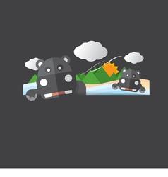 Cute Hippopotamus Portrait vector image