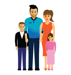 family group vector image vector image