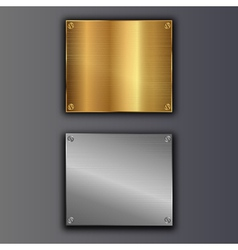 Bolted plates vector