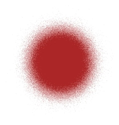 Circle Distress Red vector