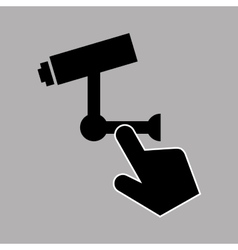Data protection smartphone surveillance camera vector