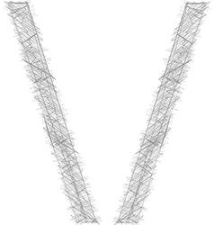 Freehand Symbol vector