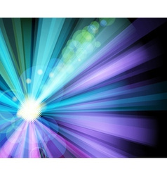 ray light party banner vector image