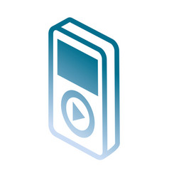 Reporductor music vector