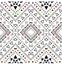 tribal geometric design vector image