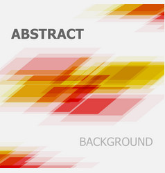 abstract red and yellow business straight line vector image vector image