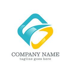 logo design company logo vector image vector image