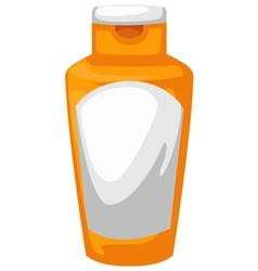 Bottle lotion vector