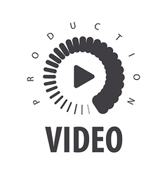 logo loading to view the video vector image