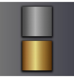perforated plates vector image