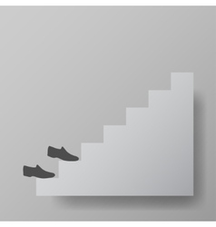 staircase upstairs vector image