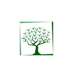 tree illutration vector image