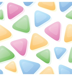 Triangle Candy background vector