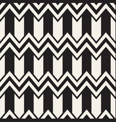 seamless zigzag line pattern abstract vector image