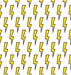 Power sign seamless pattern background vector image