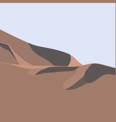 Abstract background desert landscape nature scene vector