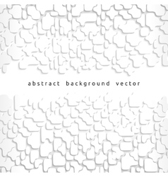 abstract background of gray fragments vector image