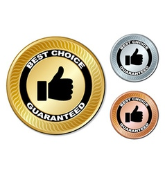 Best choice guaranteed labels vector