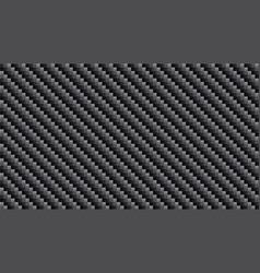 black carbon kevlar fiber pattern texture vector image