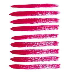 Magenta acrylic brush strokes vector