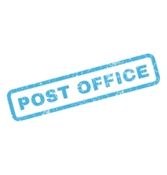 Post Office Rubber Stamp vector