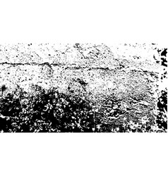 Black and white grunge texture abstract vector