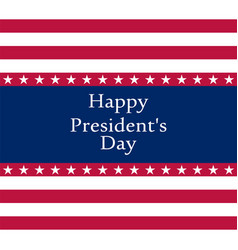 president s day in the united states vector image
