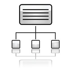 website icon vector image vector image