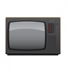 Soviet tv set vector image