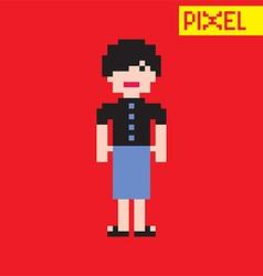 Cartoon person vector image