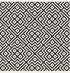 ethnic pattern design seamless lattice background vector image