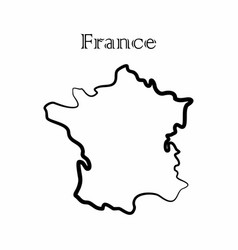 france map vector image