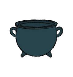 gold pot design vector image