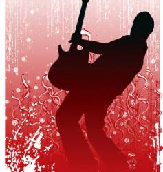 Guitar illustration vector