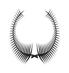 Laurel Wreath icon3 vector image