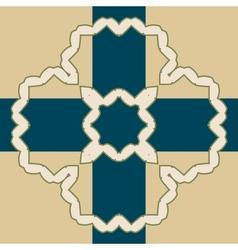 Oriental islamic pattern vector