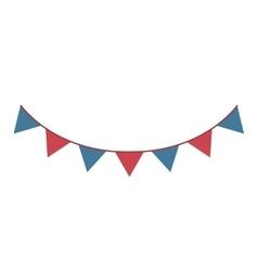 party celebration garlands icon vector image