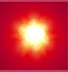 Red background with explode vector