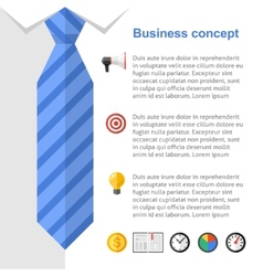 Business strategy presentation slide vector