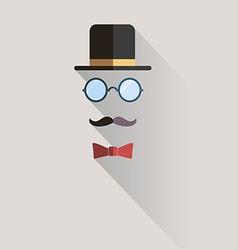 Gentlemen vintage man design element vector image vector image