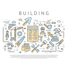Building And Construction Concept vector image