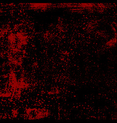 bloody grunge texture vector image