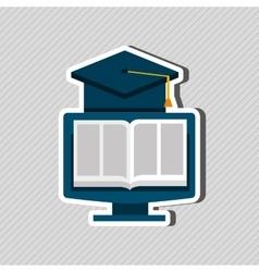 education online design vector image