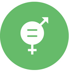 Gender equality vector