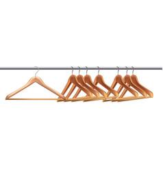 Hangers on pipe vector