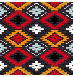 navajo tribal ornament vector image
