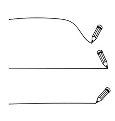 Set underlines drawn vector