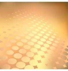 golden dots vector image vector image