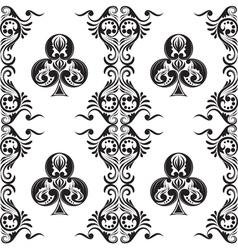 Pattern Club Ornamental vector image
