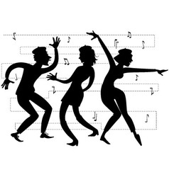 Beatnik party vector image vector image